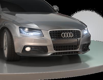 Estudo de modelagem automotiva.