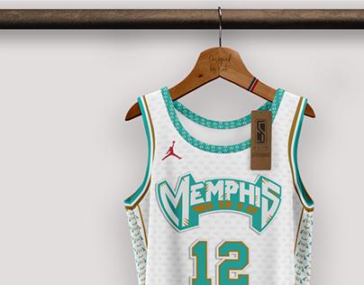 MEMPHIS GRIZZLIES / NBA - concept by SOTO UD