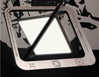 Beb-Up, pop up multicolor oled lamp
