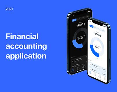 Financial accounting app