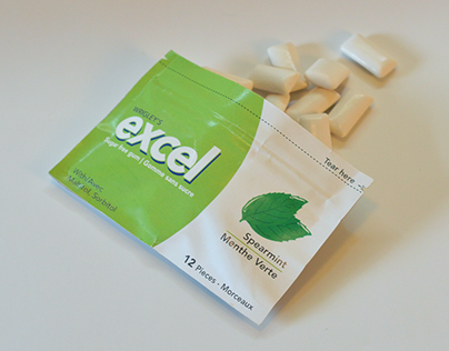 Speculative Excel Gum Packaging