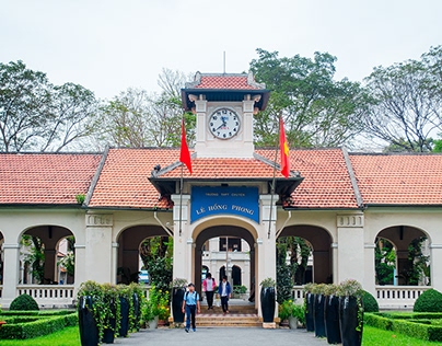 Le Hong Phong, a High school for the Gifted.