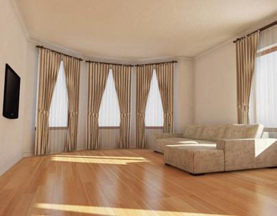 Living interior - Casa Livezeni