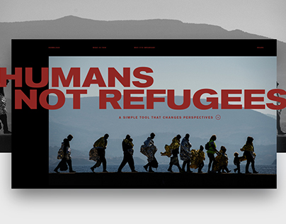 Humans not Refugees