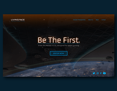 Daily UI #003 : Landing Page