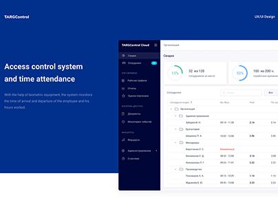 TARGControl Cloud - Admin Dashboard