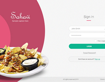 Sahavi - Food Delivery