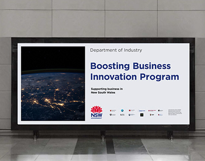 NSW Government - Boosting Business Innovation program