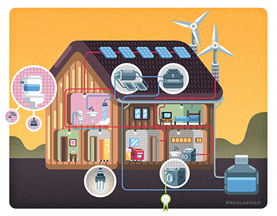 How a Sustainable House Works