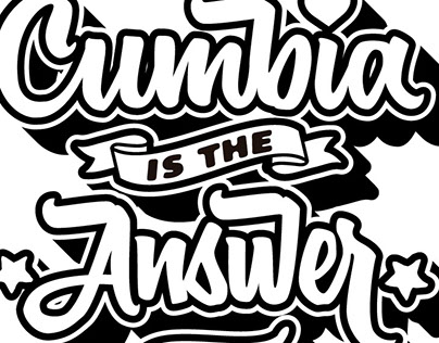 Cumbia is the Answer Diseño para @valeverga