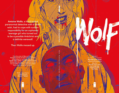 WOLF VOL.2 Cover