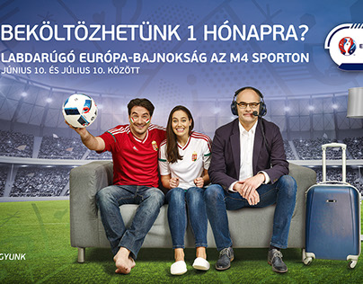UEFA EURO PROMO FOR M4 CHANNEL