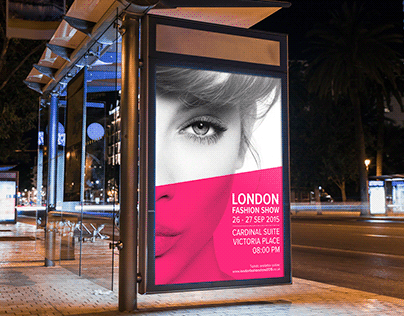 London Fashion Show - Poster & Billboard Design