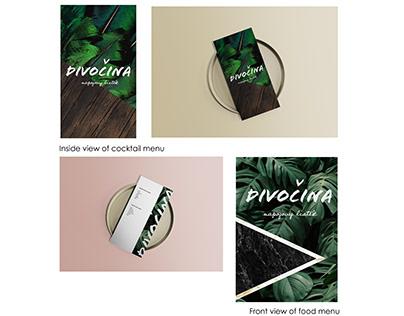 Visual Identity for Divocina bar