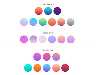 Color Gradients Free Download PSD