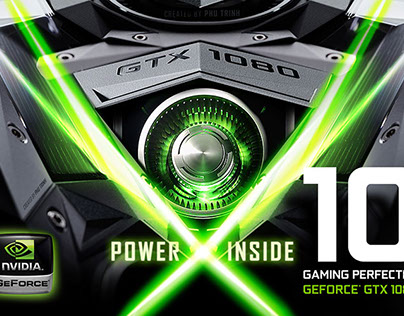NVIDIA GeForce GTX - 1080 Poster Concept 10 Perfected