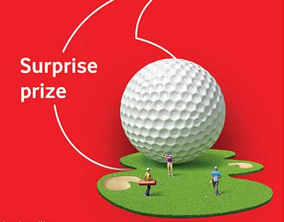 Vodafone Golf Teewalk 2018