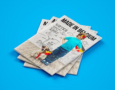 Рекламный буклет. Made in Belgium brochure