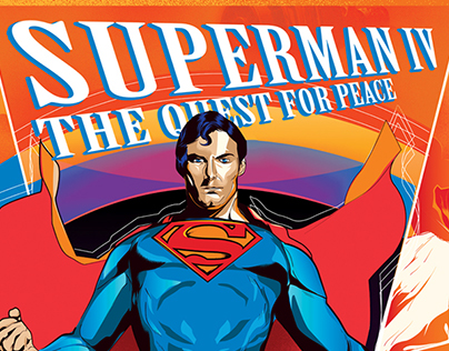 Alternative Movie Poster   Superman IV