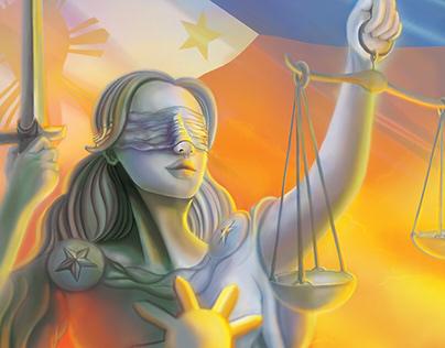 Philippine Judiciary Annual Report 2018 Cover Art