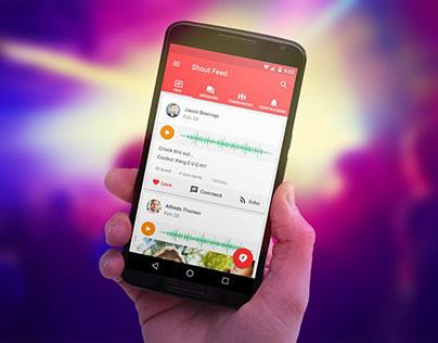 Shout - Social Network App