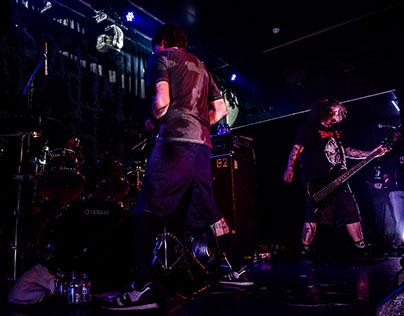 Besta, Deathrite and Napalm Death at Hard Club