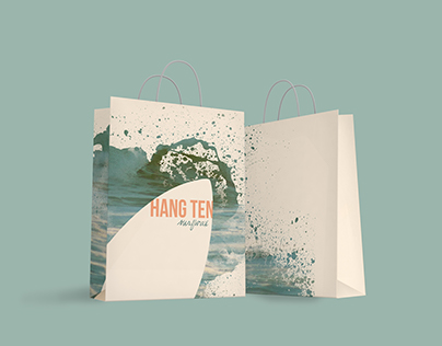 Hang Ten SurfWax Bag Design
