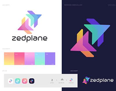 Brand identity design for zedplane