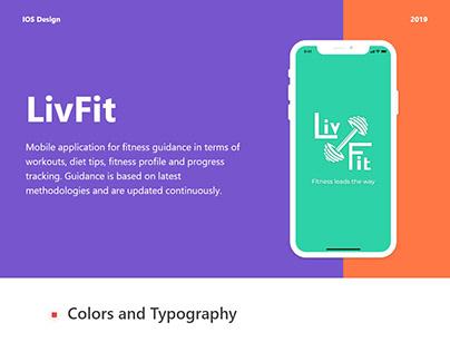 IOS : Livfit app