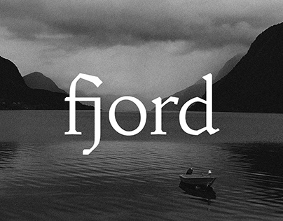 fjord typeface