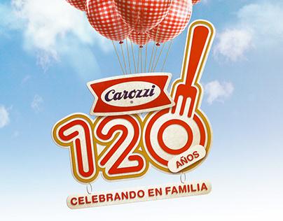 CAROZZI PASTAS 120 AÑOS