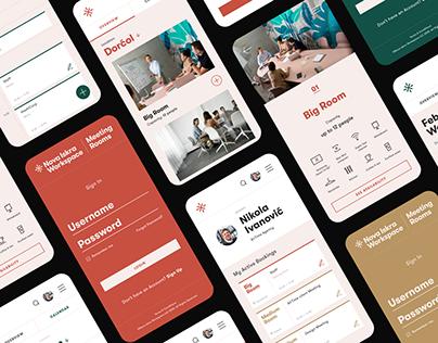 Nova Iskra Workspace Meeting Rooms — App