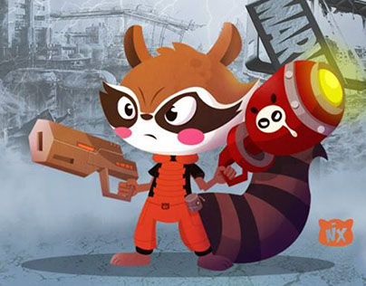 Rocket Raccoon - Fan Art Contest
