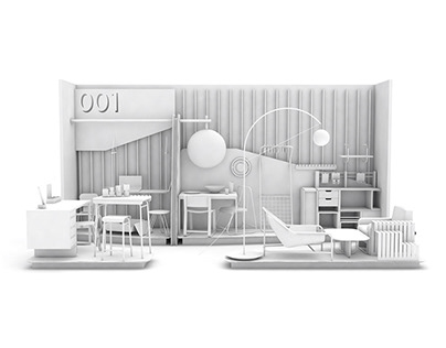 ISSI CABINET // ICFF Furniture Design