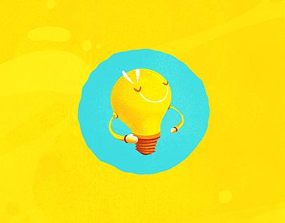 Ilustração Nutren Kids - Nestlé
