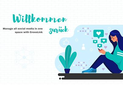 CrossLink. System for managing social media