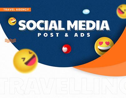 Social Media Post - Travel Agency - Instagram posts
