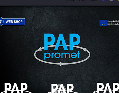 Izrada web stranice za Pap promet