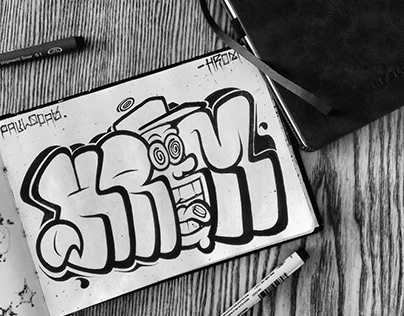 GRAFFITI SKETCH HROM