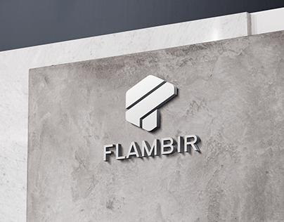 Logo for a new FLAMBIR company in Wroclaw.