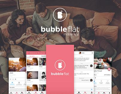 Bubbleflat Mobile App