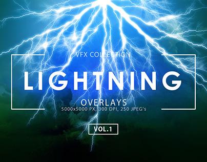 Lightning Effect Overlays Vol. 1
