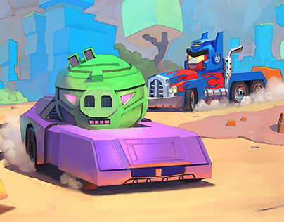 Angry Birds Transformers - Part 1