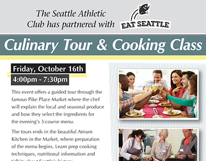 SAC: Culinary Tour & Cooking Class