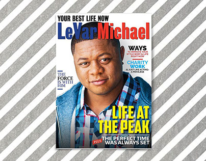 Magazine Cover/Actor sheet Design