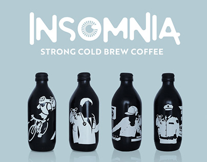Insomnia - Strong Cold Brew Coffee Packaging