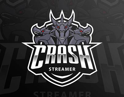 Crash Streamer - Twitch Logo