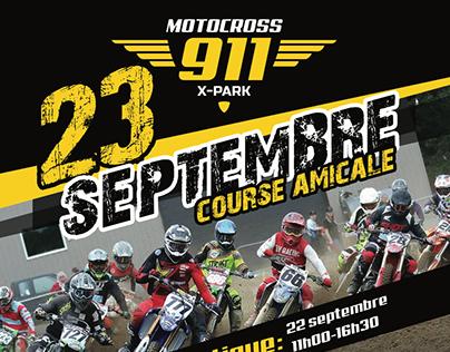Affiche Motocross