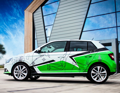ŠKODA Fabia for TV show