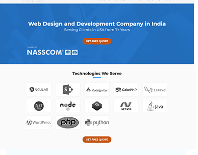 UI/UX Design for a Wordpress Website
